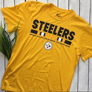 Nike Dri-fit Steelers Top